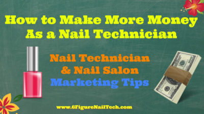 Nail Technician Marketing