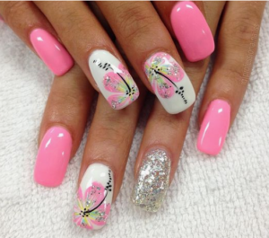 Making money with nail art designs nail technicians guide to 1 because clients are seeing flowers that look like this on social media prinsesfo Images
