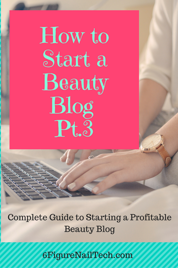 How to Start a Beauty Blog That Makes Money