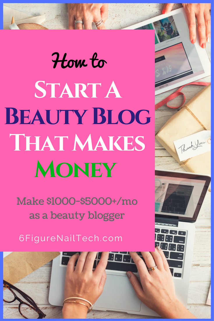 how to create a successful beauty blog