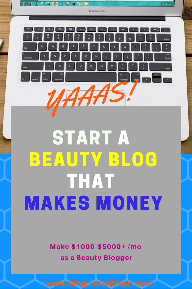 How to Start a Profitable Beauty Blog